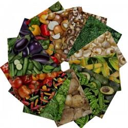 Fresh - Vegetable FQ (3 sady)